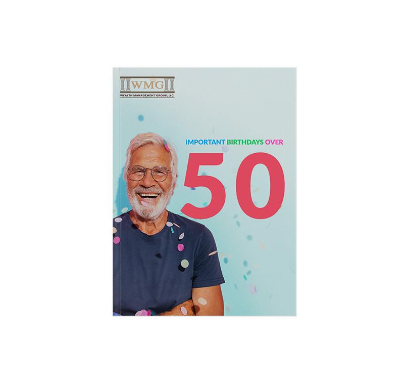 Milestone Birthdays Over 50